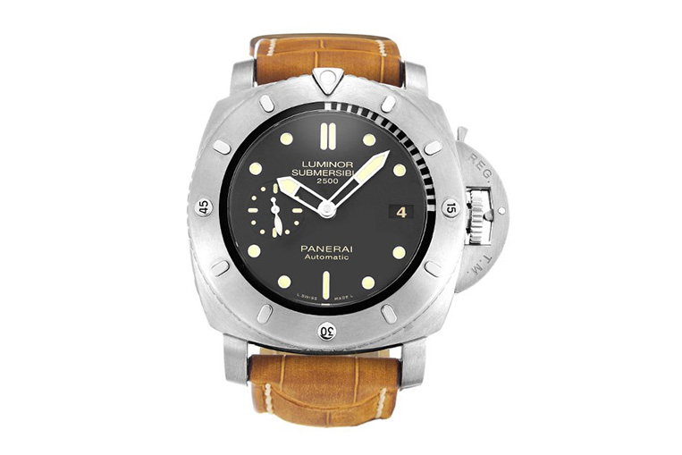 We take a closer look at feature dive watches swiss - Panerai dive watch ...