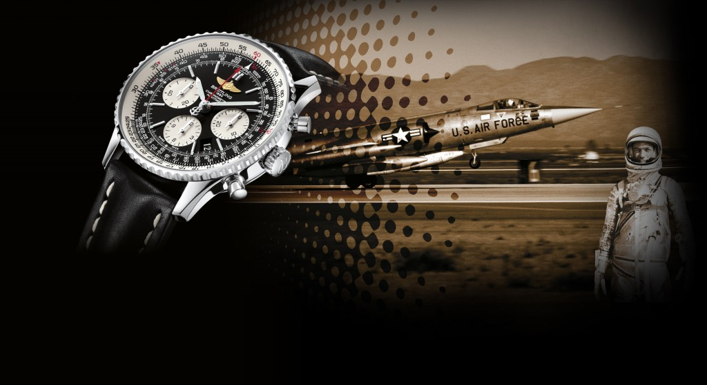 Breitling flight watch