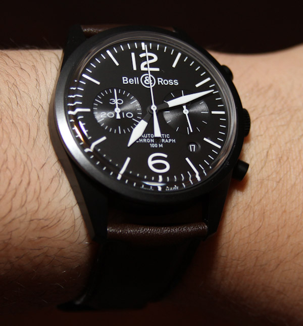 f78b632649 A Bell   Ross Watch With Vintage Look – BR 126 – Swiss Sports Watch