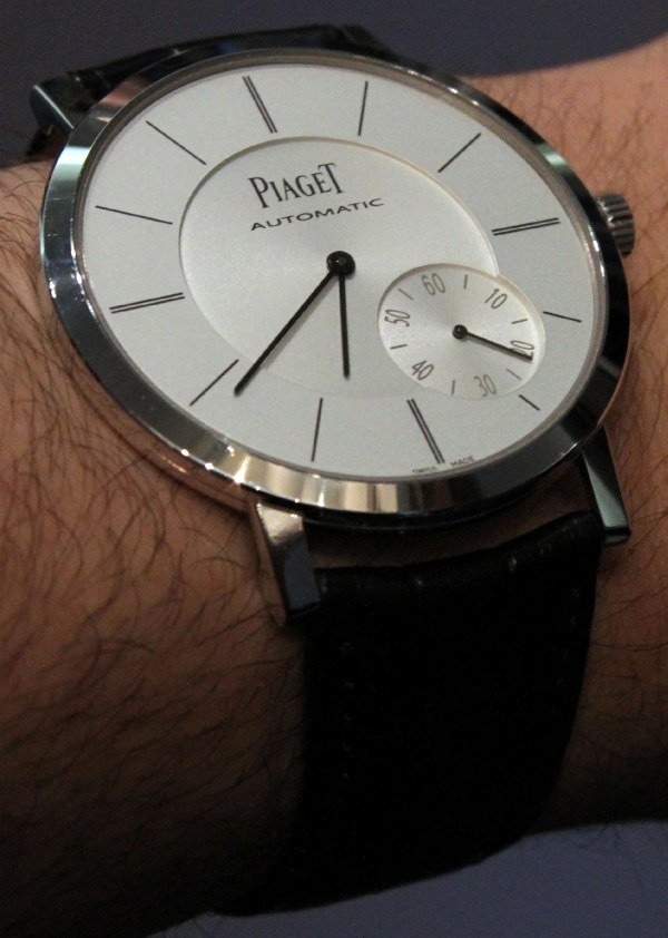 Piaget altiplano 43 automatic watch hands on swiss sports watch for Altiplano watches
