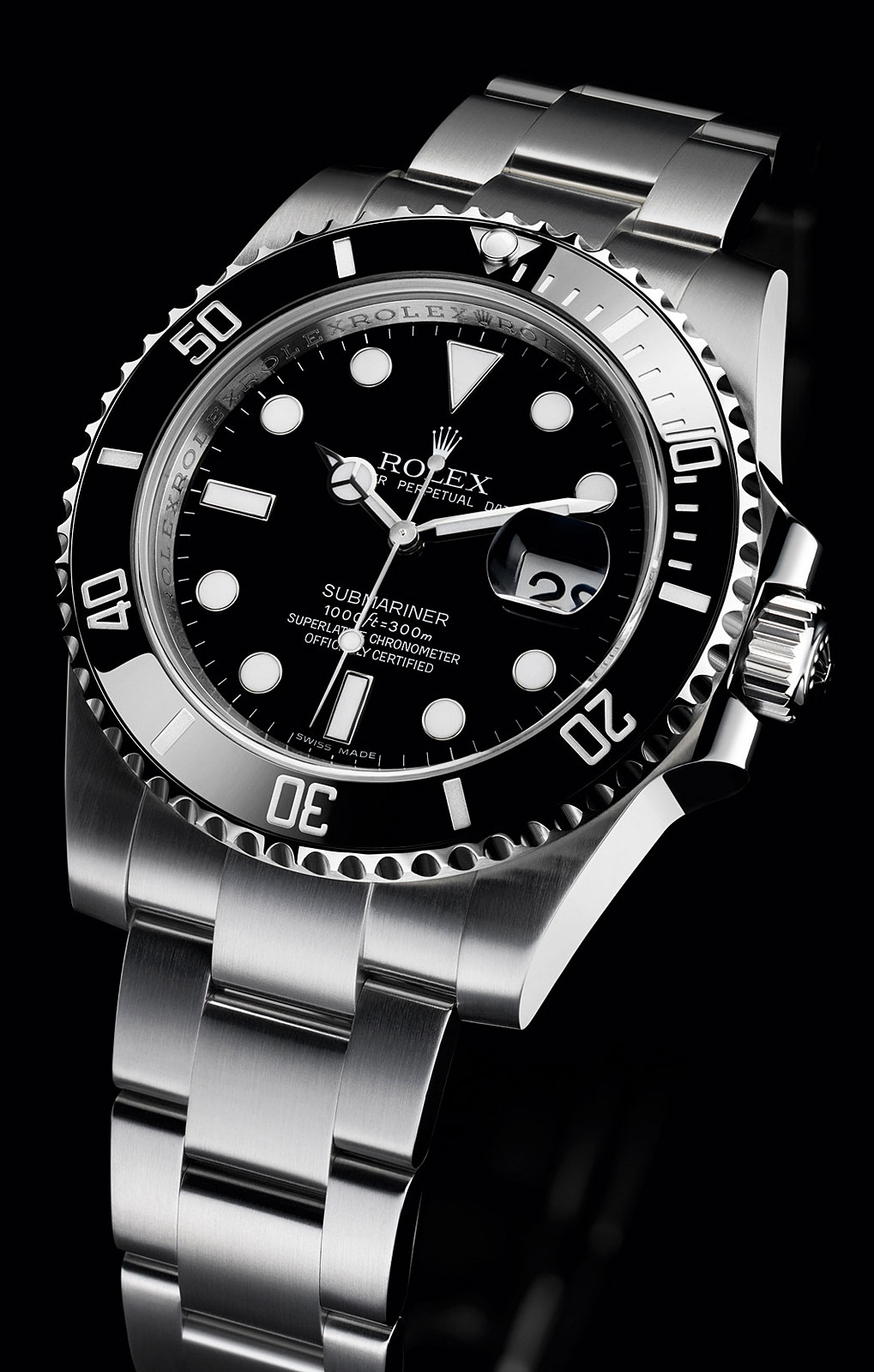 Rolex Submariner Date Stainless Steel Watch – Swiss Sports ...