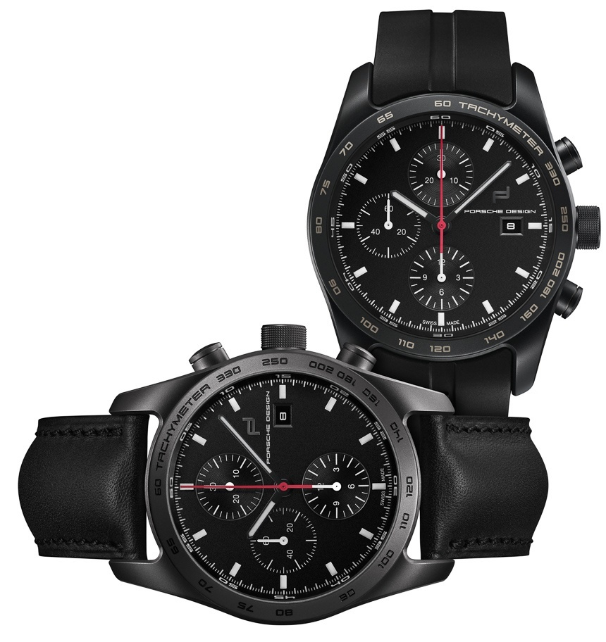 Two Latest Limited Edition Timepieces From Porsche Design
