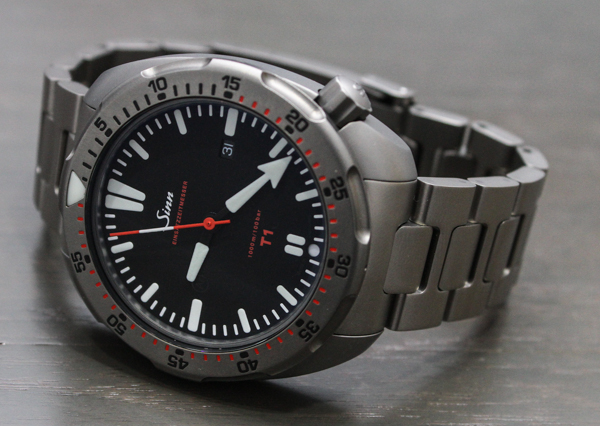 The Sinn T1 And T2 Titanium Dive Watches Review Swiss