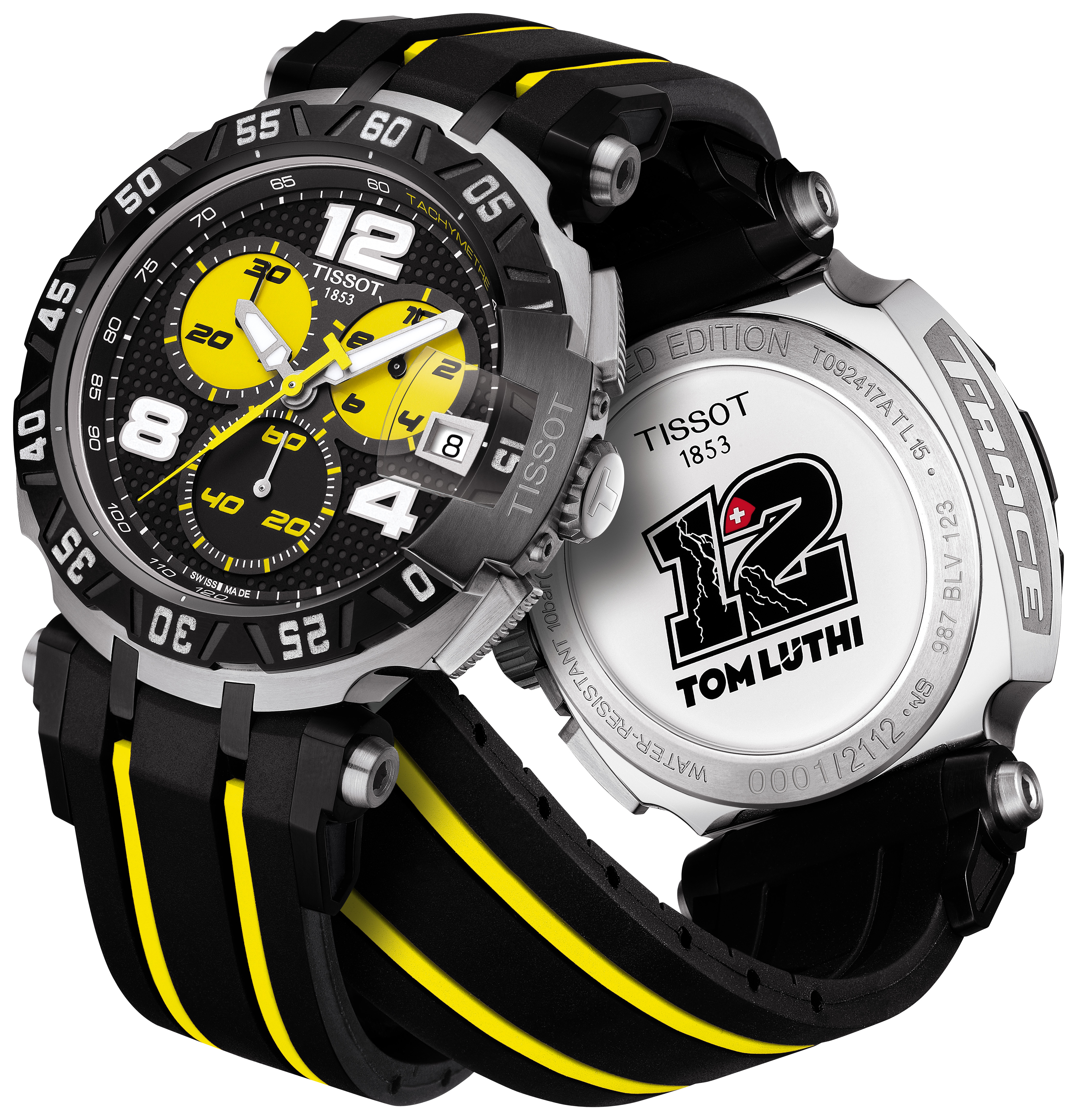 Tissot 2010 t-race thomas lüthi limited edition | watchalive.