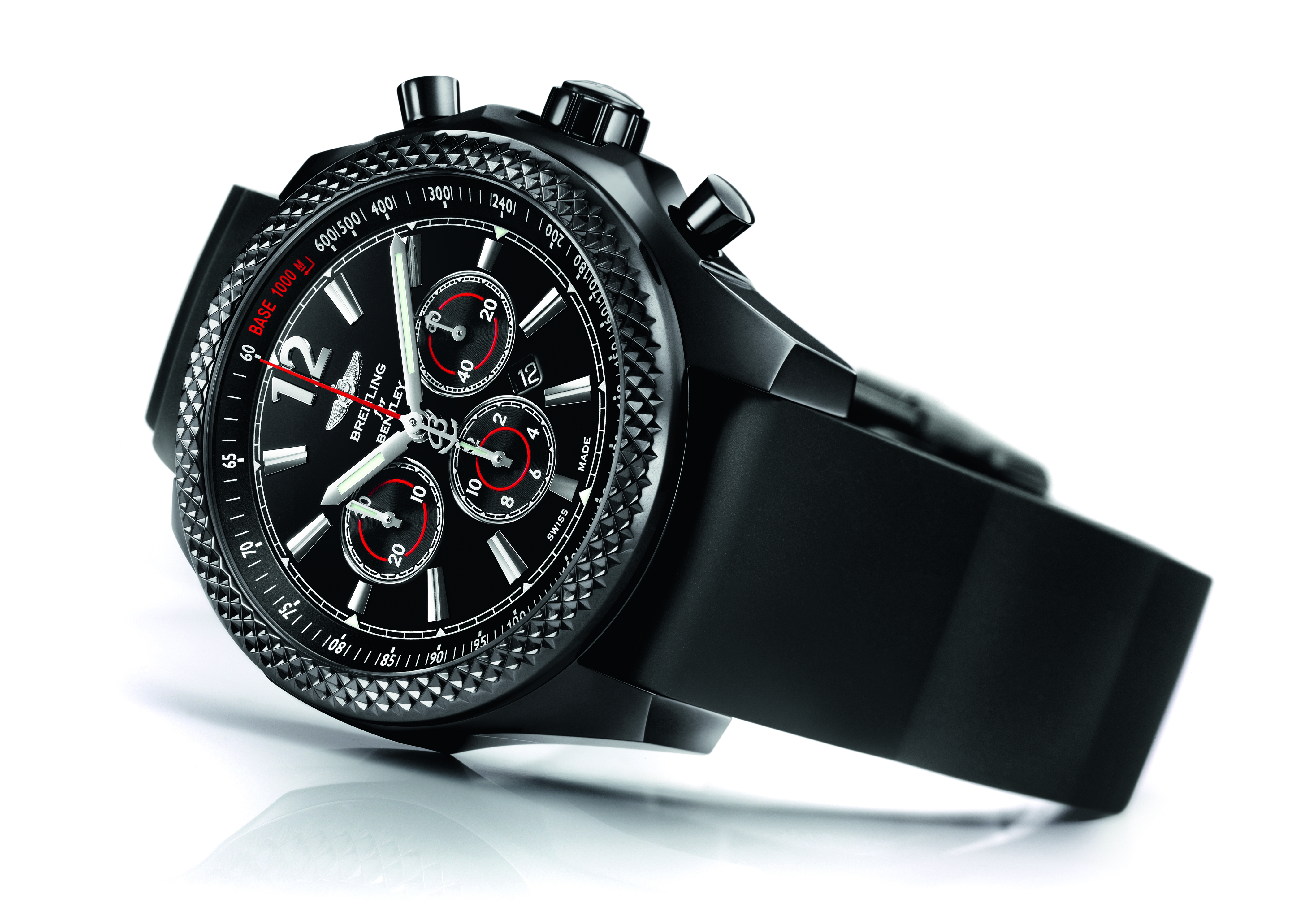 breitling bentley barnato 42 midnight carbon swiss sports watch. Black Bedroom Furniture Sets. Home Design Ideas