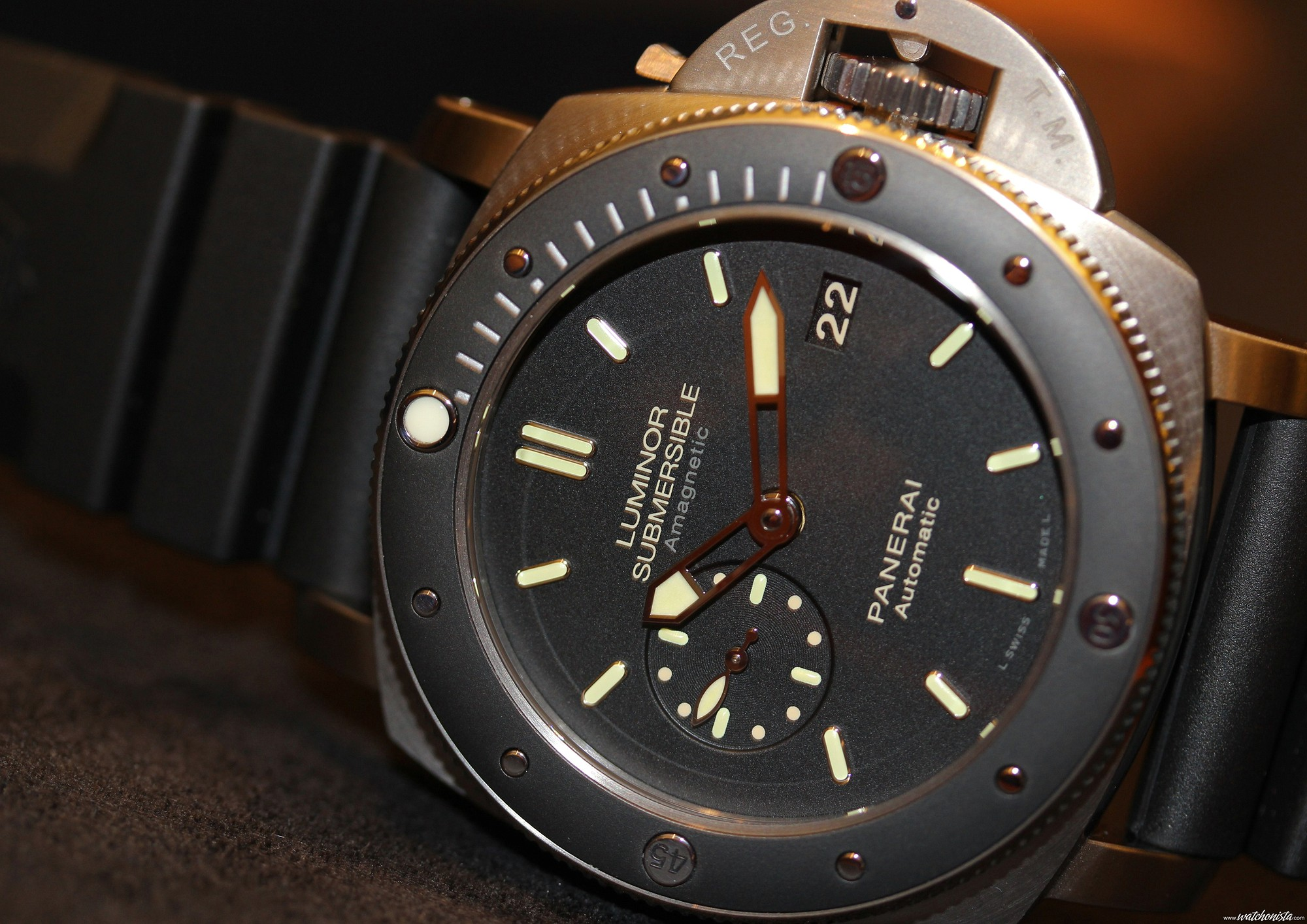 df73d3dc109c Fearless-and-Indestructible---Panerai-Luminor-Submersible-1950-. Panerai s  new Luminor Submersible 1950 Amagnetic three days ...