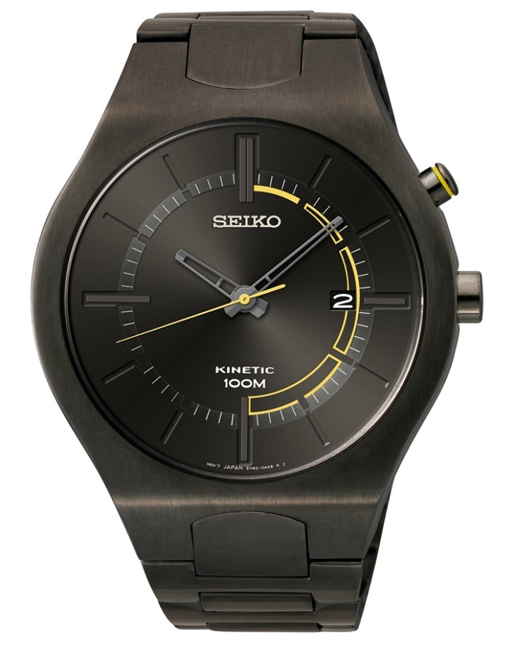 how to change the rotor on seiko kinetic watch