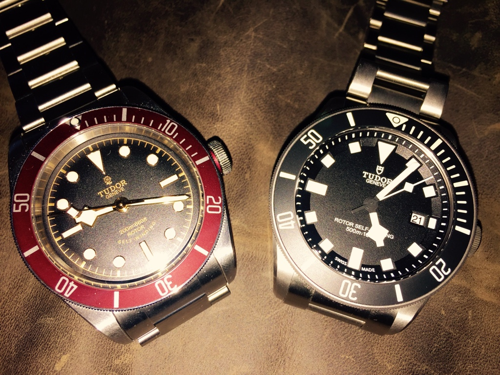 Tudor pelagos and heritage bay diver swiss sports watch - Tudor dive watch price ...