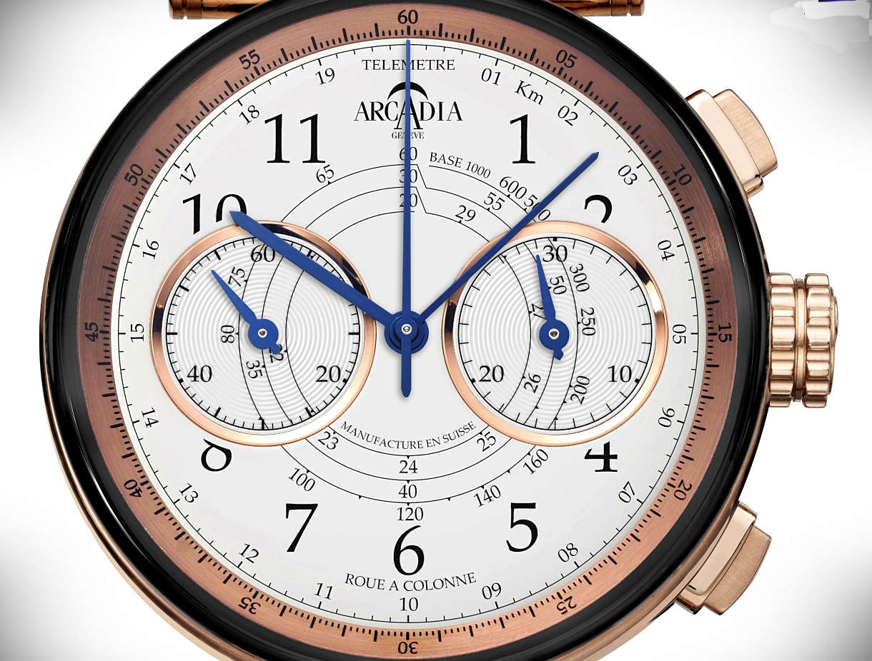 how to make a chronograph watch