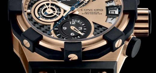 Concord-C1-Chronograph-Gold-Watch