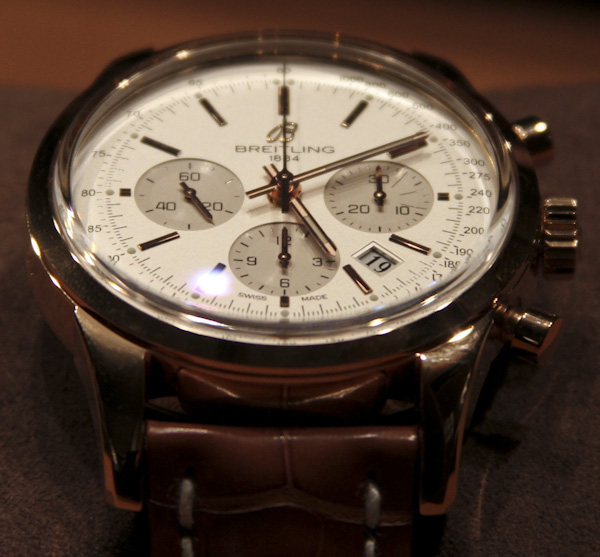breitling transocean on swiss sports