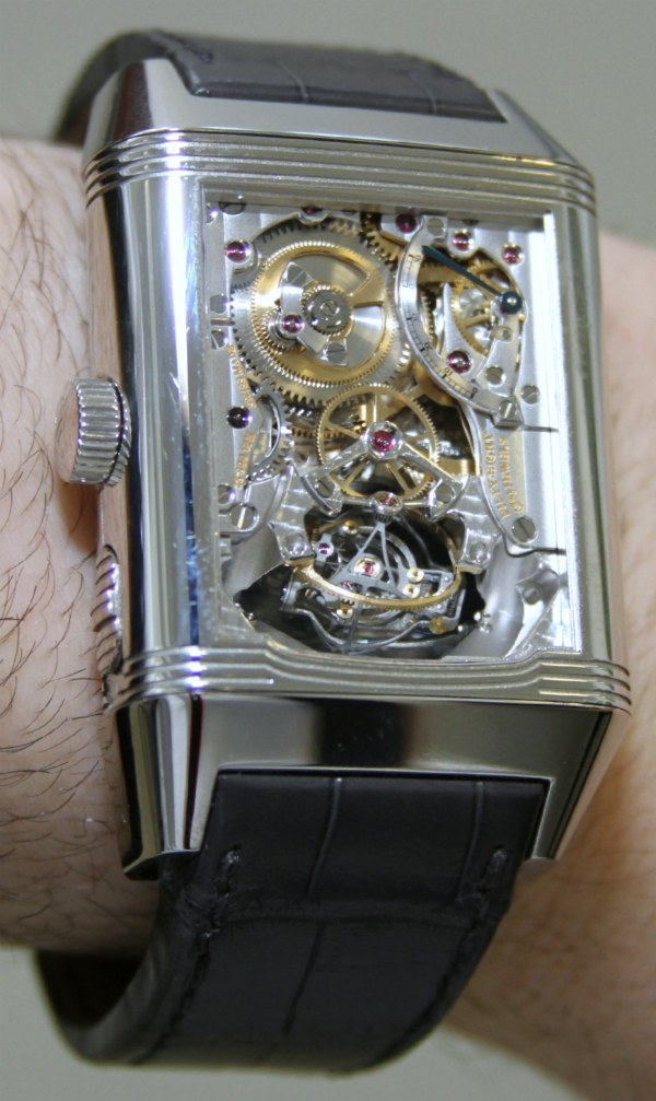 jaeger lecoultre gyrotourbillon i ii watches hands on swiss sports watch. Black Bedroom Furniture Sets. Home Design Ideas