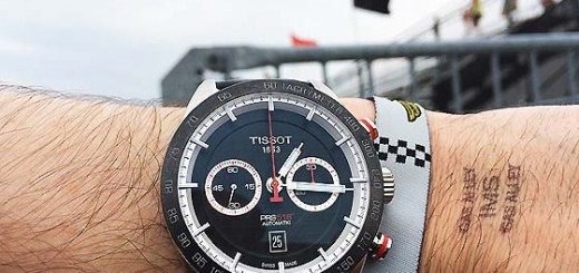 Review the New Tissot PR 516 at Indianapolis Motor Speedway