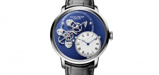 Arnold & Son Gives Its DSTB Exposed-Complication Watch a White-Gold Makeover