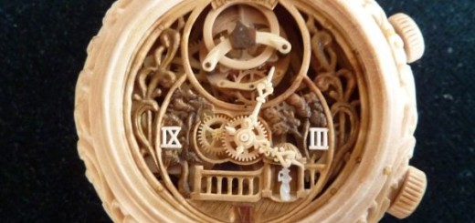 Is a true Wooden mechanical watches by Valerii Danevych?