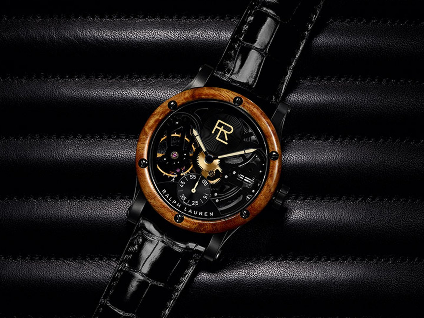 ralph lauren rl automotive skeleton watch inspired by bugatti unveiling in singapore swiss. Black Bedroom Furniture Sets. Home Design Ideas
