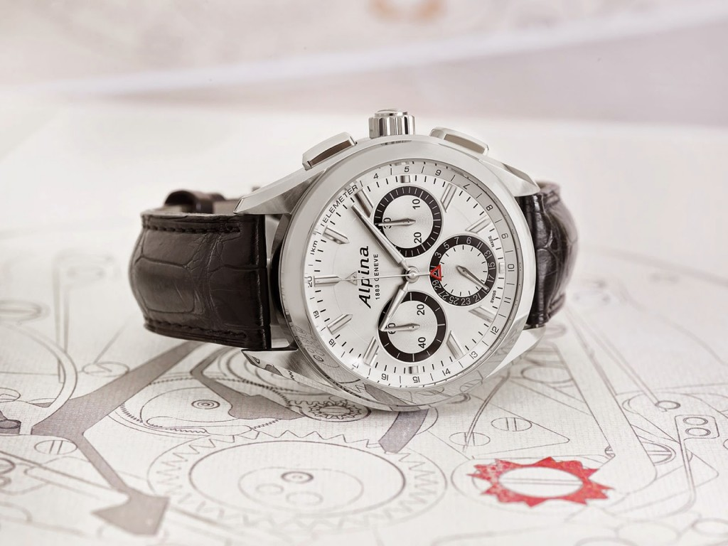Alpina Alpiner 4 Manufacture Flyback Chronograph 1