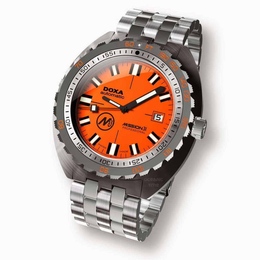 TWO DOXA OFFICIAL TIMEPIECES LEGENDARY NAMES IN DIVING COME TOGETHER AGAIN