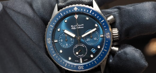 Hands On With The Blancpain Ocean Commitment Bathyscaphe Flyback Chronograph