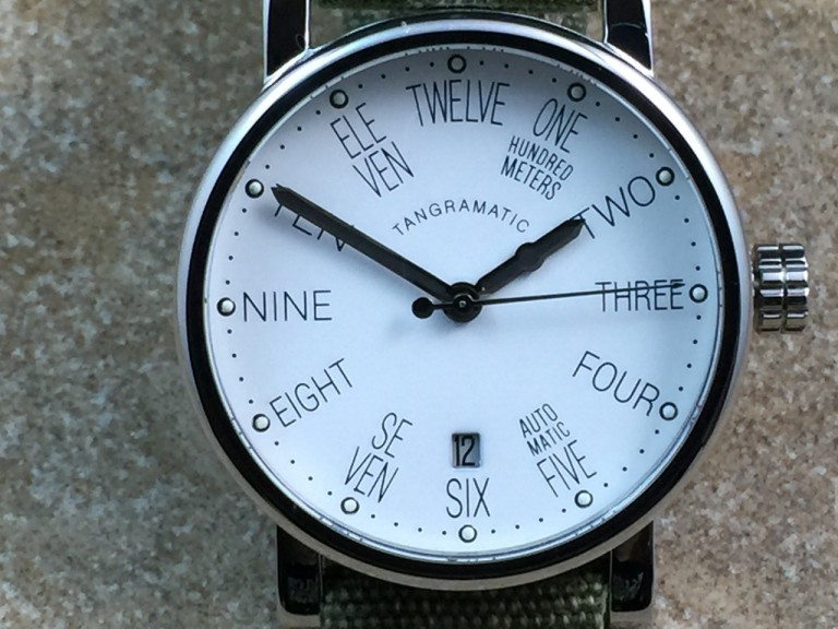 Spotted on Tangramatic 39A Bauhaus with larger wrists