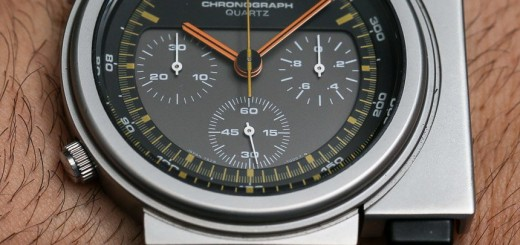 A Different Perspective On the Reissue Of an Iconic Quartz Chronograph by Seiko SCED035