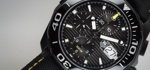 2015 TAG Heuer Aquaracer 300M Ceramic Bezel Watch Review