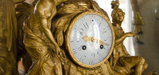 At the heart of Louis XIV's kingdom enormous collection of clocks