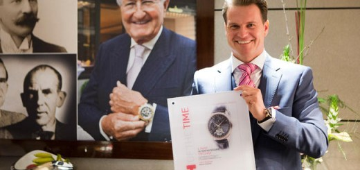 Carl F.Bucherer Manero Tourbillon taken First Place In TOP Class Baselworld 2015