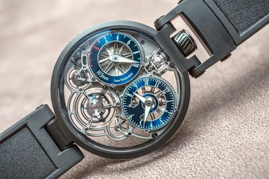 Bovet Pininfarina OttantaSei 10-Day Tourbillon Watch Hands-On Review