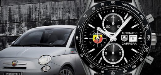 TAG Heuer and Abarth partner with the Abarth 595 Competizione