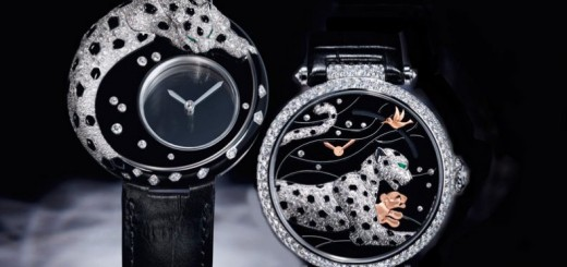 "Cartier The mysteries of the panther: ""Panthères et Colibri"" new ladies' models"