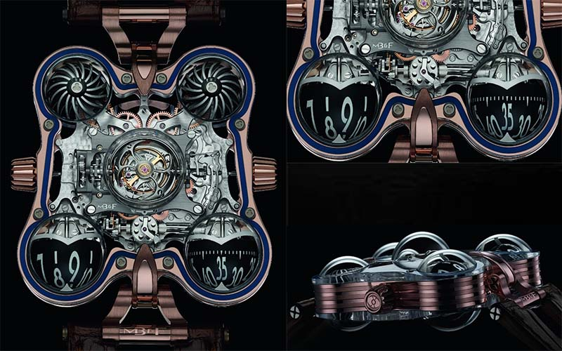 "SIHH 2016: MB&F HM6 SV At SIHH inspired by ""Art Deco"" style"