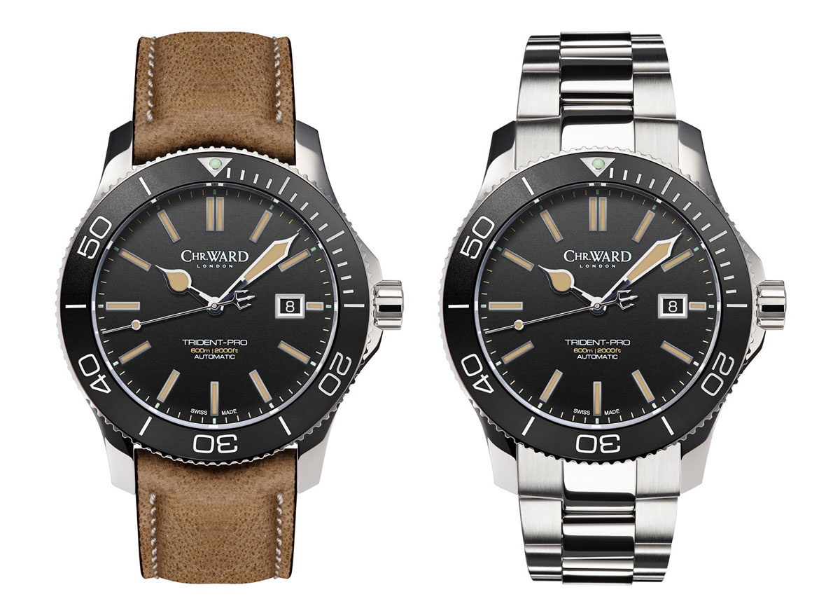 christopher ward c60 trident 600 vintage watch releases swiss