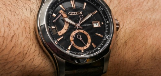 Citizen Signature Grand Classic 9184 Watch Hands-On Review