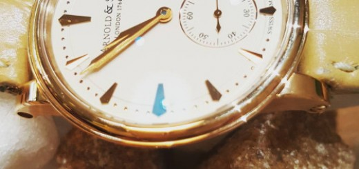 Got Hooked On Arnold & Son Ladies HMS Allure Of Pure, 18K Rose Gold