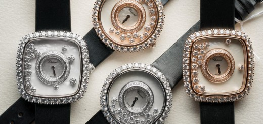 Elegant And Beautiful Chopard Happy Diamonds Watch Collection At Baselworld 2016