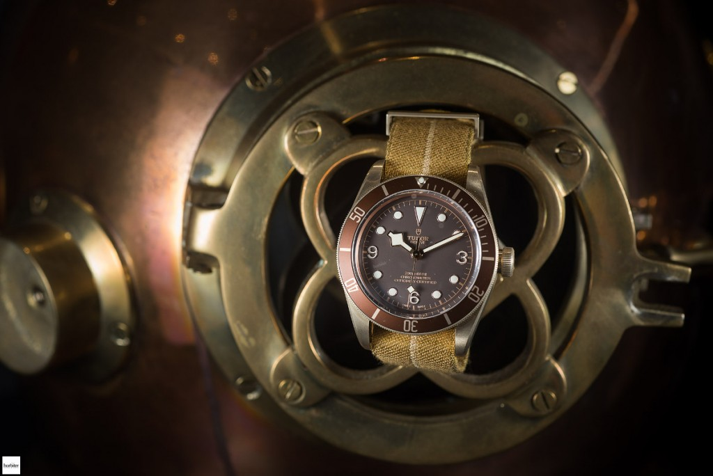 Tudor Ultimate Heritage Black Bay Bronze At Baselworld 2016