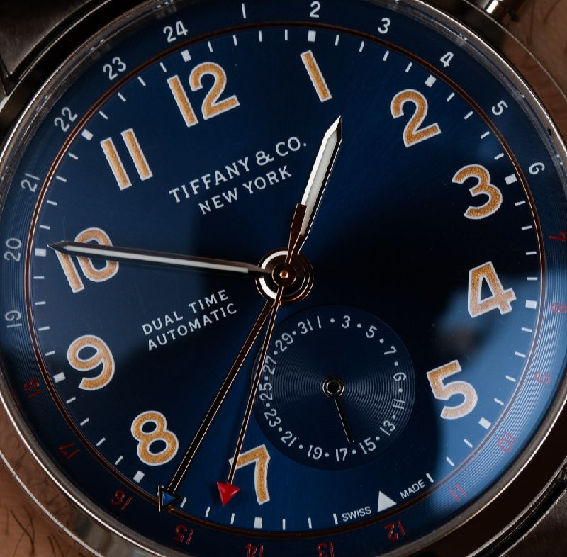 My Favouriate: The Conventional, Sporty Tiffany CT60 Dual Time Automatic