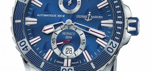 Ulysse Nardin Marine Diver Monaco 44mm Case Mens Watches