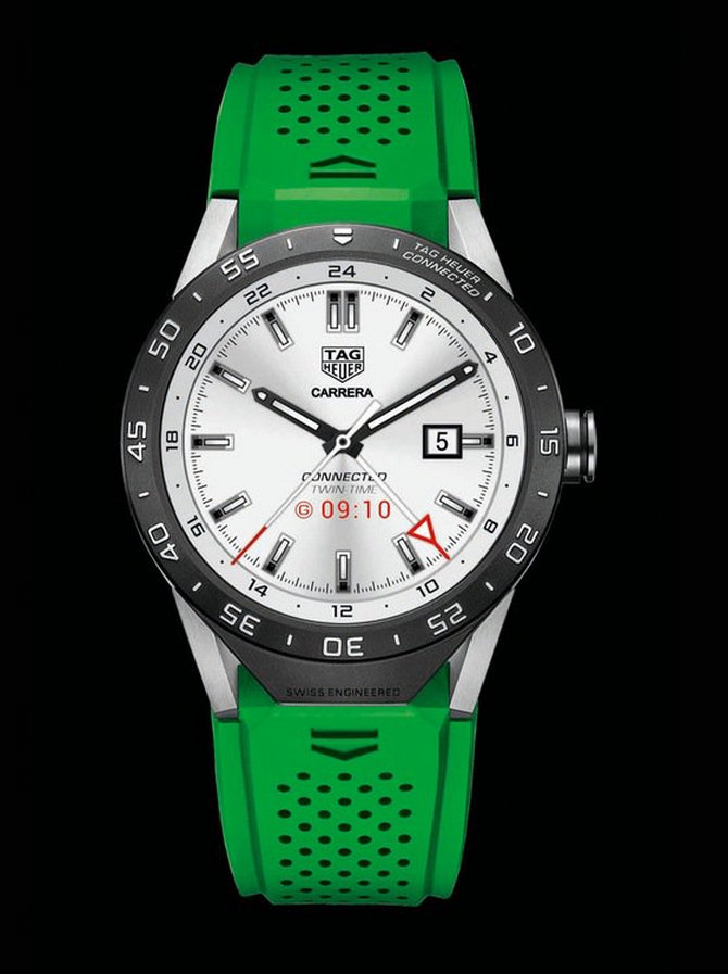 A Review Of TAG Heuer Connected Smartwatch With 46mm Case ...