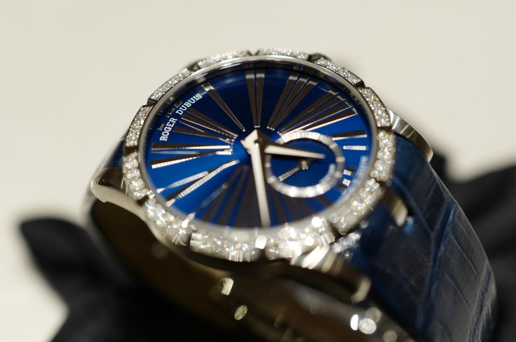 A Luxurious Version Of Roger Dubuis Excalibur 36 Automatic Watches
