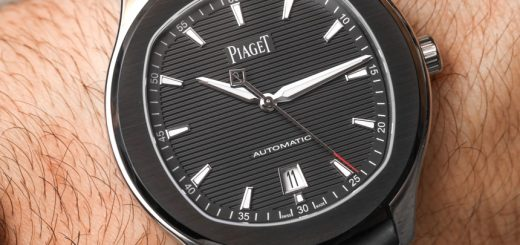 Piaget Polo S With Black 42mm Case & Rubber Strap Men's Watch