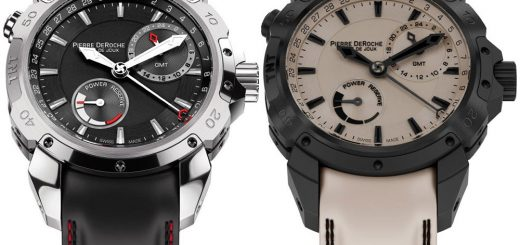 Take A Look At The Pierre DeRoche TNT GMT Power Reserve 43 Watches