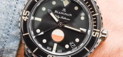 A Review Of Blancpain Tribute To Fifty Fathoms Mil-Spec Watch