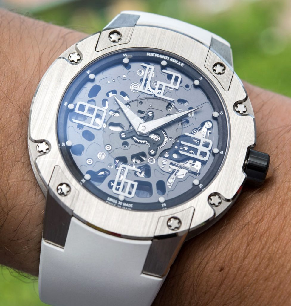 Hands-On With Richard Mille RM033 With White Gold Case Men's Watch