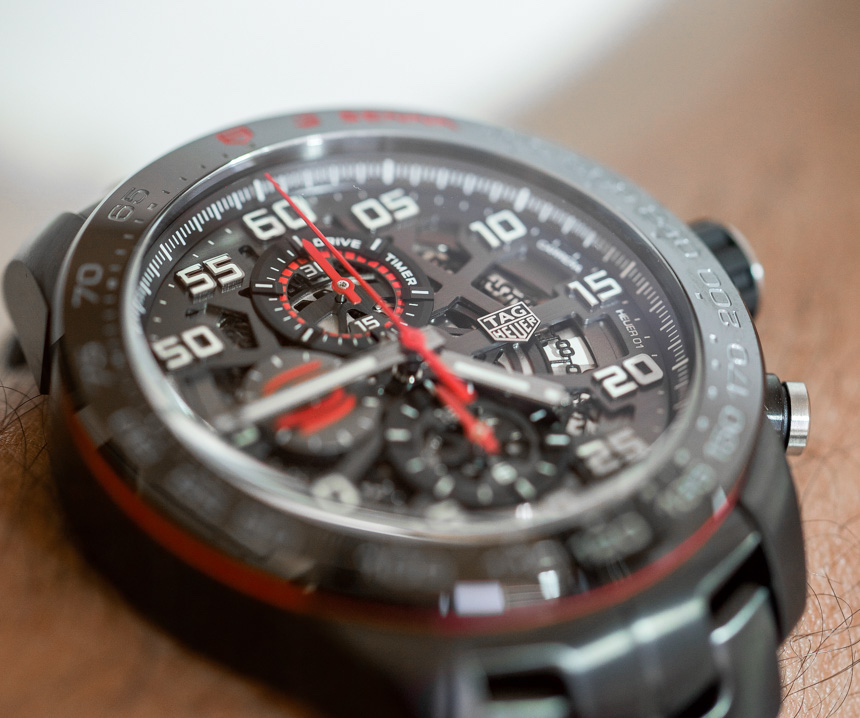 TAG Heuer Carrera Heuer-01 & Formula 1 Ayrton Senna Special Edition Watches Hands-On Hands-On