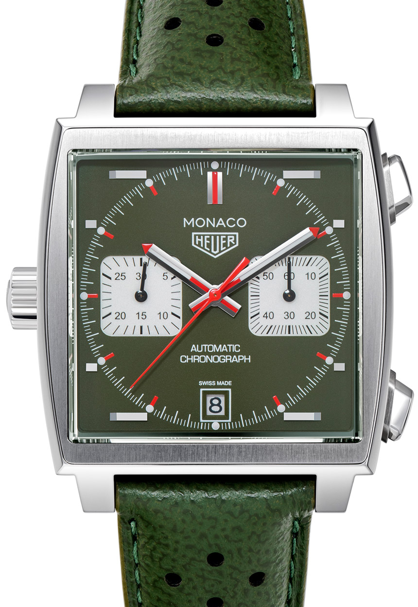 TAG Heuer Monaco Men's Club Japan Watch Watch Releases
