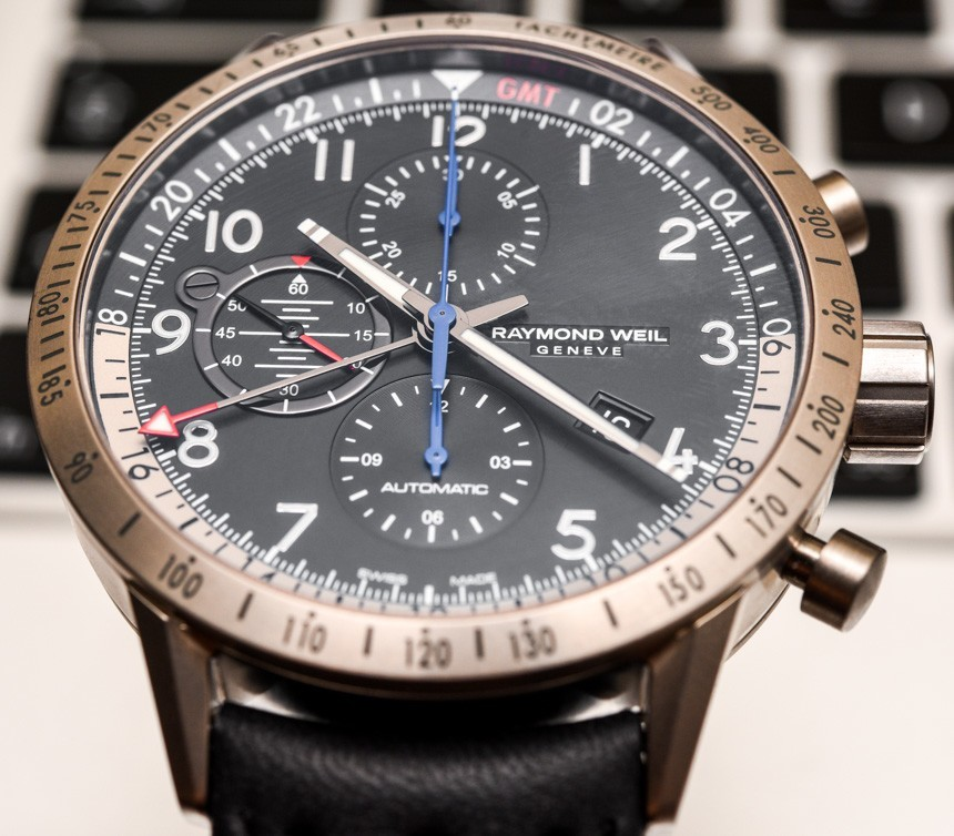Raymond Weil Freelancer Piper Pilot Watch Review Wrist Time Reviews