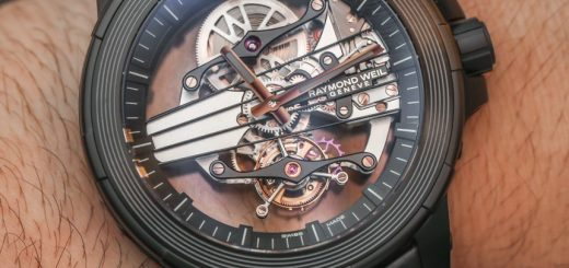 Raymond Weil Nabucco Cello Tourbillon Watch Hands-On Hands-On