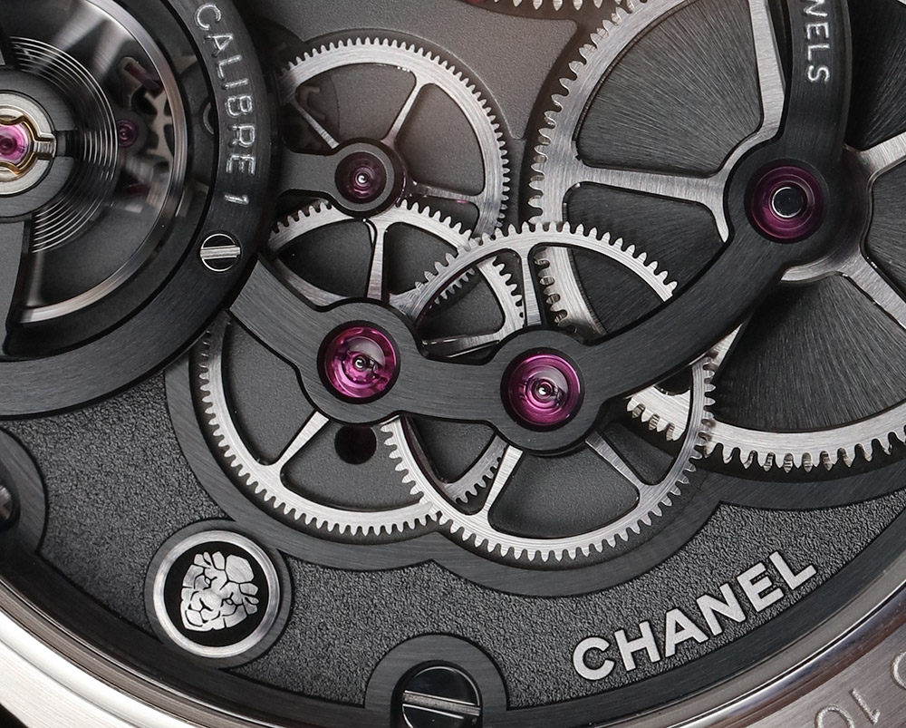 Chanel Monsieur De Chanel Watches Logo Watch In Platinum With Black Enamel Dial Hands-On Hands-On